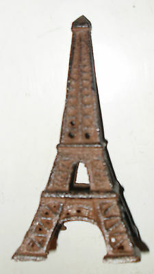 Beautiful Cast Iron Victorian BROWN EIFFEL TOWER french decor