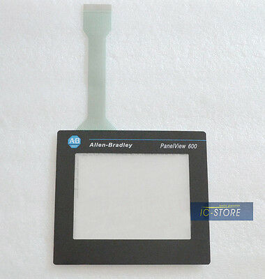 AB Allen Bradley Panelview 600 2711-T6C5L1 touch screen digitizer glass + cover