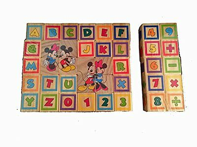 NEW Mickey Mouse Clubhouse Mickey and Minnie Learn and Grow Blocks
