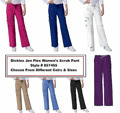 Dickies Gen Flex Scrubs 857455 Cargo Pants All Sizes Colors Free Shipping