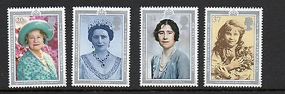 GB 1990 Queen Mother 90th Birthday unmounted mint set stamps