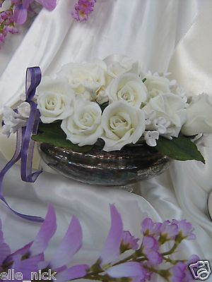 SILVER PLATE ANTIQUE WESTMINSTER HEAVY SERVING DISH VICTORIAN
