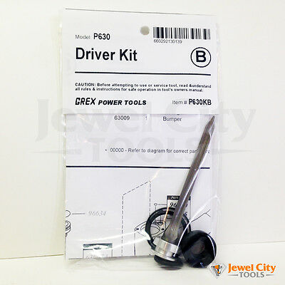 Brand New Grex Replacement Driver Kit P630 - Part # P630KB