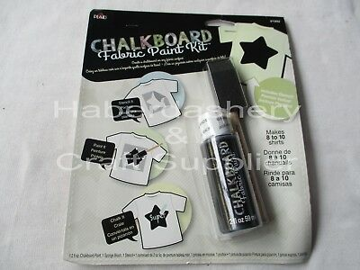 Chalkboard Fabric Paint Kit* Water Based*star