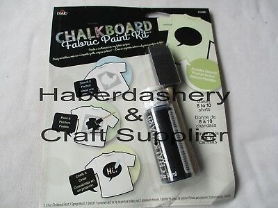 Chalkboard Fabric Paint Kit* Water Based *thought