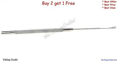 Feather Tools Pulling Needle Hair Extension Professional Tool For Hair Extension