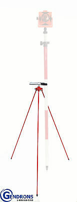 Gator Prism Pole Tripod,for Surveying,gps,seco,topcon,trimble,leica,rod,bipod