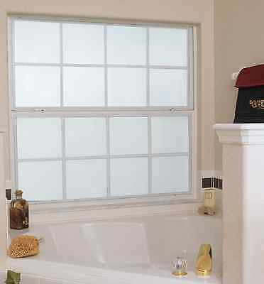 WHITE FROSTED - PRIVACY FROST, WINDOW TINTING PRO TINT GLASS FILM, 51, 76, 100cm