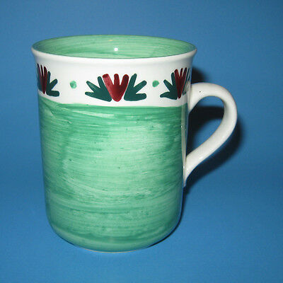Carrigdhoun Pottery Ireland Green Mug