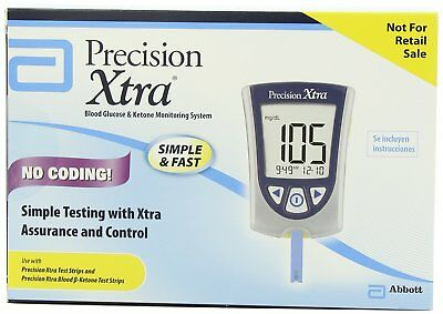 Abbott Precision Xtra Blood Glucose and Ketone Monitoring System Meter