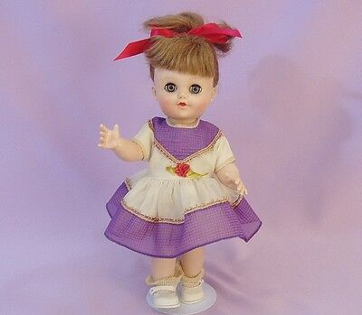 """10"""" Hard Plastic LIL SUSAN DOLL by EEGEE 1950s"""