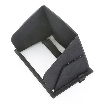 Collapsible Molded iPad Sun Shade and Privacy Hood