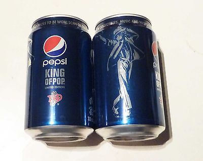 PEPSI can SINGAPORE Michael Jackson King of Pop Collectors Asia English 2012 a