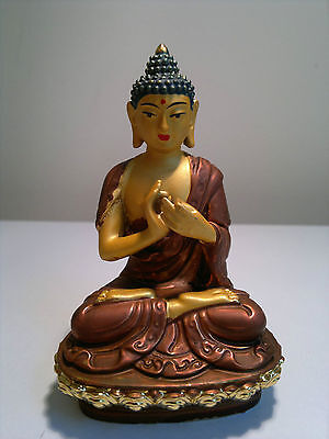 Blessed Vairocana Buddha Statue 10cm The Great Illuminator Supreme Enlightenment