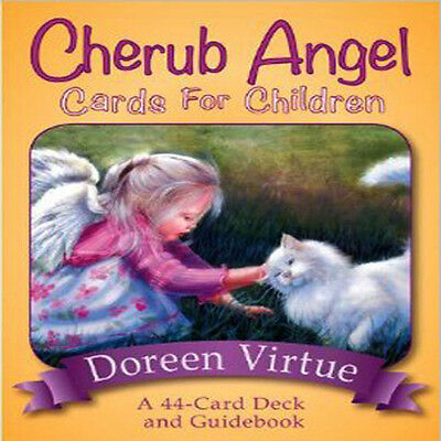 Doreen Virtue PhD's Cherub Angel Cards for Children New In Uk