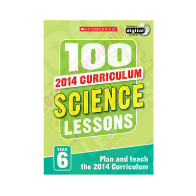 100 Science Lessons Collcetion : Year 6 Series In UK