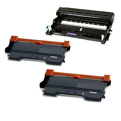 2PK TN450 Toner + 1PK DR420 Drum for Brother DCP-7060D HL-2240 MFC-7360N