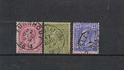 STAMPS  BELGIUM SELECTION  from 1883  (FINE USED)   lot 545