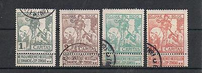 """STAMPS  BELGIUM SELECTION  1910 BRUSSELS EXHIBITION """"A""""  (FINE USED)   lot 575a"""