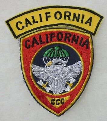 RECON TEAM CALIFORNIA CCC Post VIETNAM WAR Made PATCH for VETERANS & COLLECTORS