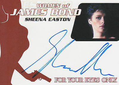 James Bond 2014 Archives Autograph WA58 Sheena Easton