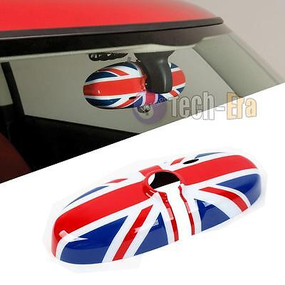 Union Jack UK Flag Rear View Mirror Cover Housing For MINI Cooper R55 R56 R57...