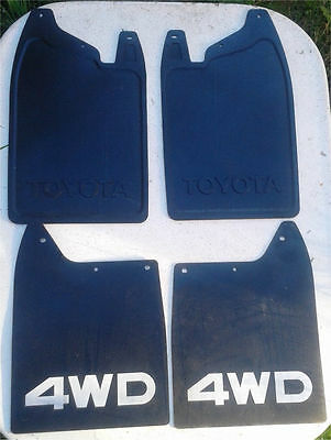 1984 85 86 87 88 89 Toyota Pickup 4Runner Front And Back Mud Flaps