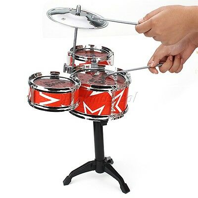Durable Children Toy Mini Drum Set For Kids Play Music