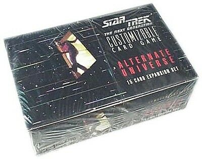 Star Trek Ccg 1E : Alternate Universe Booster Box 36 Packs Sealed