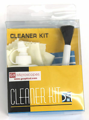 Brand New, Lens Cleaning Kit, Objective Cleaning, 5-in-1 Microscope Cleaning Kit