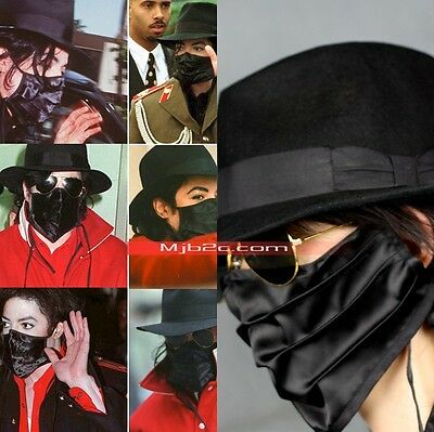 Michael Jackson Costume Stereoscopic Masks Black
