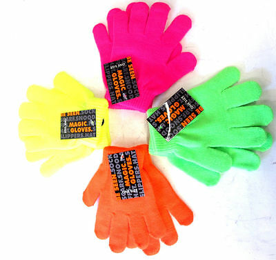 Childrens Knitted Magic Gloves - Gl102