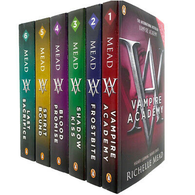 Vampire Academy Series Collection 6 Books Set By Richelle Mead, Last Sacrifice