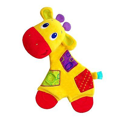Bright Starts Snuggle and Teethe Giraffe - Baby Teething Toy Brand New