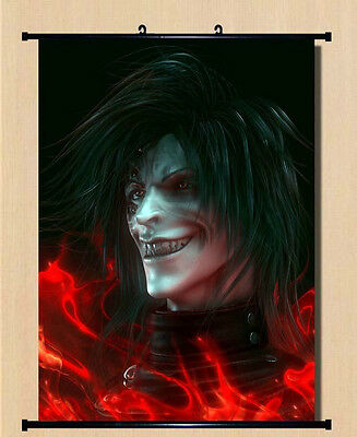 Home Decor Japanese Anime Wall poster Scroll Hellsing Alucard Cosplay 08 Popular