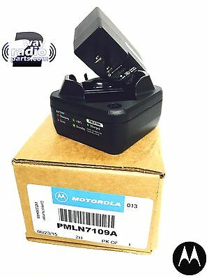 Real Genuine Motorola Rapid Rate Single Unit Charger - MotoTRBO SL300 PMLN7109A