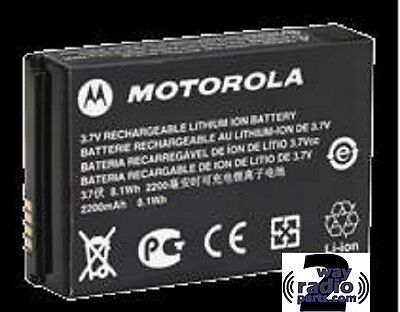 Real Genuine Motorola  Li-Ion 2300 mAh Battery for MotoTRBO SL300 PMNN4468A