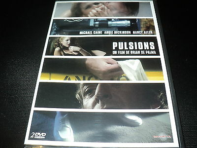 "COF 2 DVD NEUF ""PULSIONS"" Michael CAINE Angie DICKINSON Nancy ALLEN / DE PALMA"
