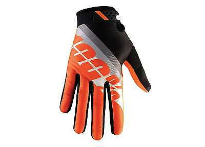 100% Handschuhe Motocross Enduro Slant Orange KTM S-XL Gloves Prozent MX MTB DH