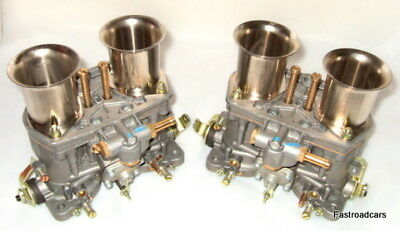 Weber Genuine 48 Idf 7 Pair Carburettors Bargain Low Price! Vw Air Cooled-Fordv8