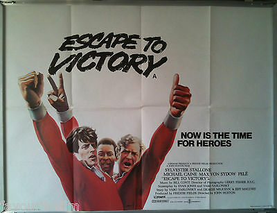Cinema Poster: ESCAPE TO VICTORY1981 (Adv Quad) Sylvester Stallone Michael Caine