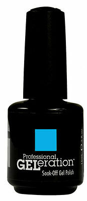 Jessica Geleration UV Gel Polish ARGON BLUE - .5 fl oz GEL793