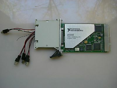 National Instruments PXI-6030E w/ TB-2705 Screw Terminal Block
