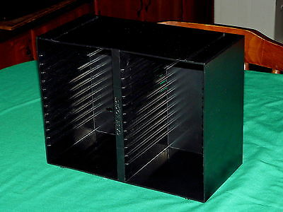 Case Logic : 30 CD Storage BOX @ WALL MOUNT Stackable INSERT for CARRY CASE
