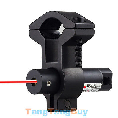 New 650nm Red Laser Dot Sight With Universal Barrel Mount On/Off Switch