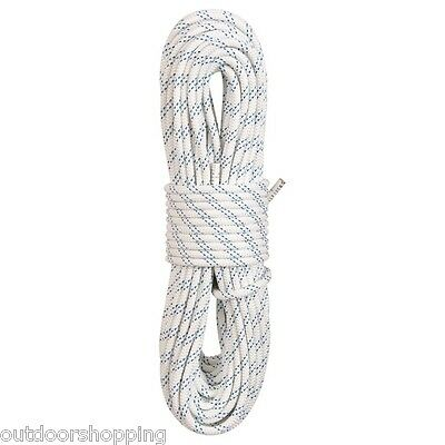 """New England White Static Rope KM III 3/8"""" X 150' - Rescue & Rappelling Operation"""