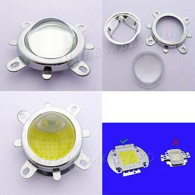 44mm Lens+Reflector Collimator+Fixed bracket For 20W 30W 50W 100W LED