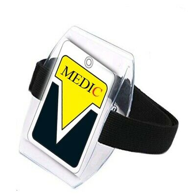 1 x Arm Band, Black & NEW - with large Window - ( Secure Closure )