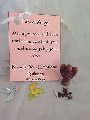 Crystal Pocket Angel's ~ Choice of stones