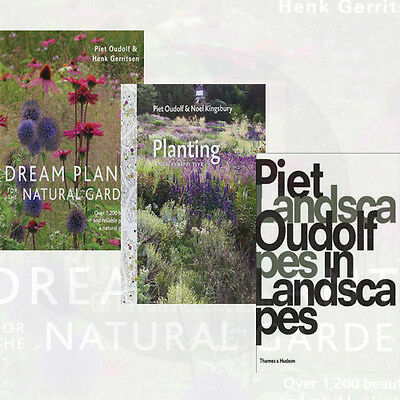 Piet Oudolf 3 Books Collection Set,Dream Plants for the Natural Garden